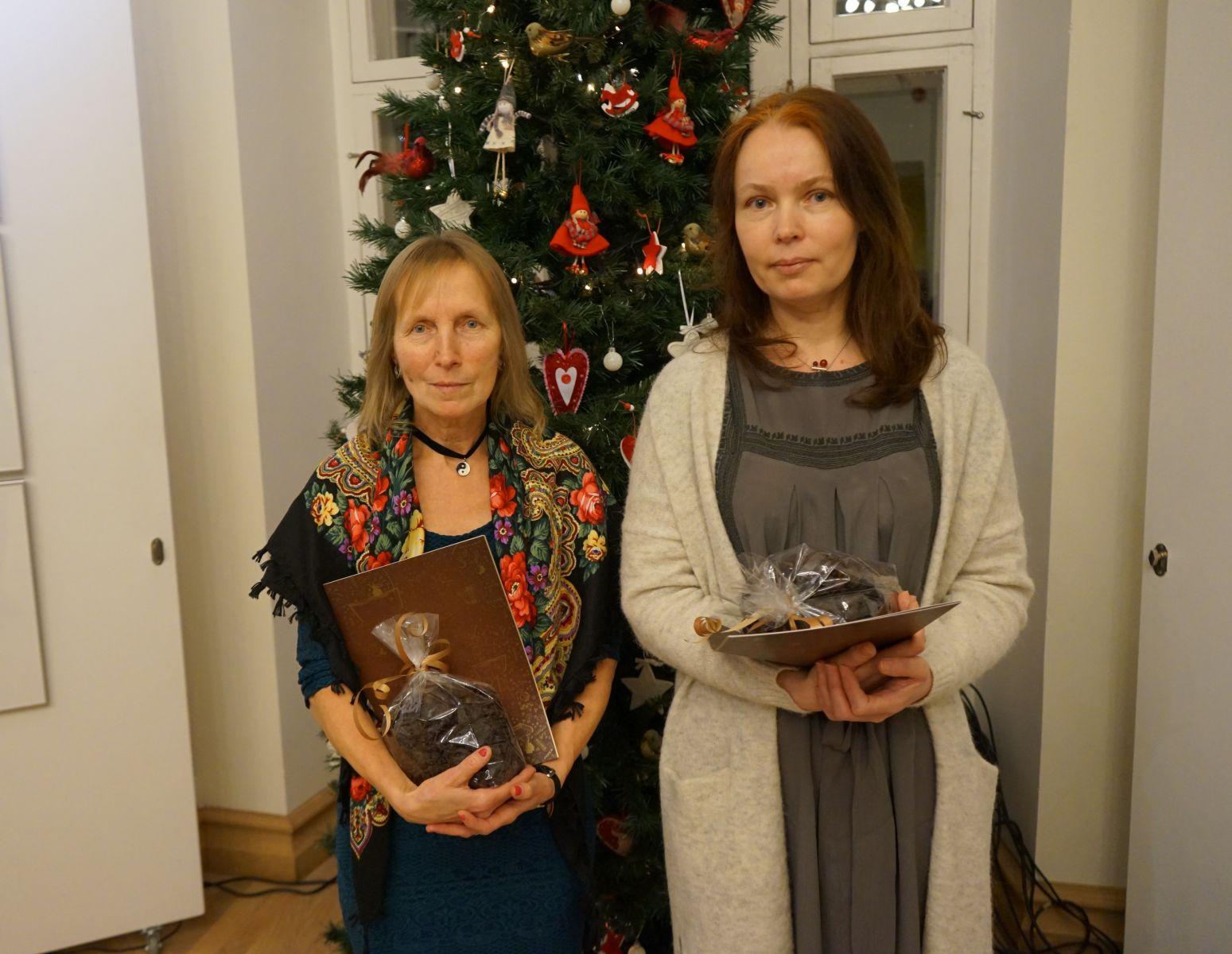 Aasta rosin 2017. Mare Müürsepp ja Angelika Schnider