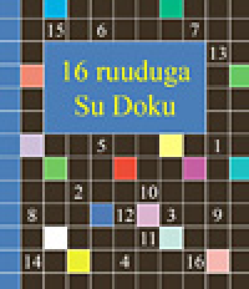 16 ruuduga Su Doku