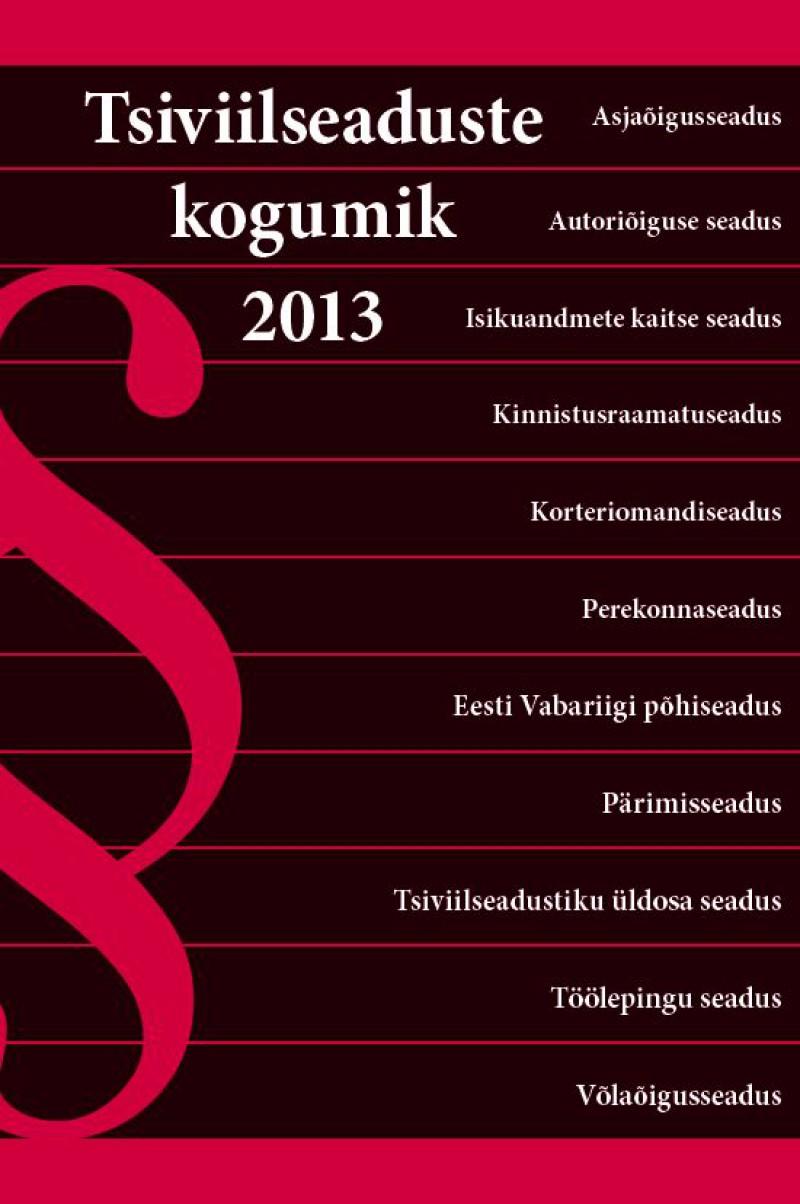 Tsiviilseaduste kogumik 2013